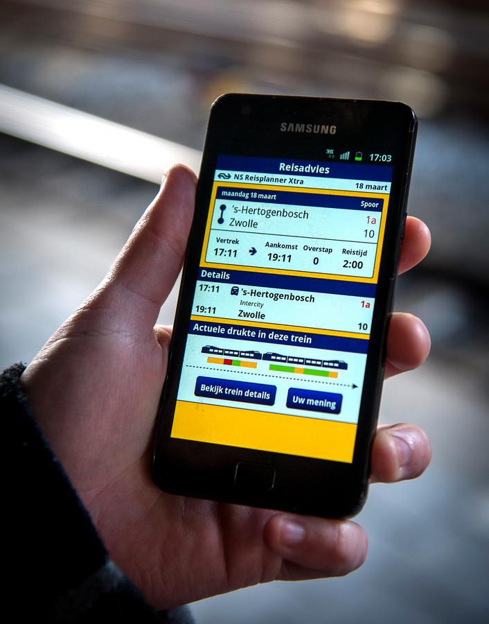 Mogelijk komt er een reserveringsapp voor het openbaar vervoer, foto ter illustratie.