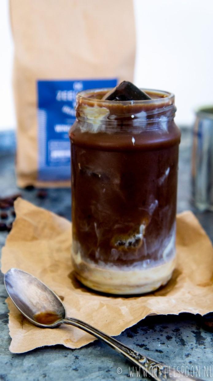 Iced coffee met Indiase chai + De Zeeuwse Branding