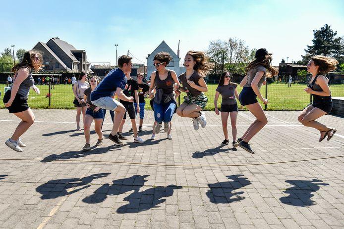 Tijdens de startdag van Speelplein Toeter daagden liefst vijftien nieuwkomers op.