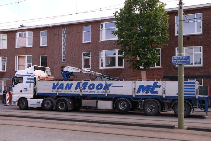 Woningen Jan van der Heijdenstraat na 2,5 jaar bijna hersteld