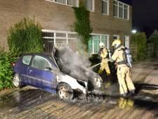 Toch weer raak in Vaassen: auto brandt volledig uit