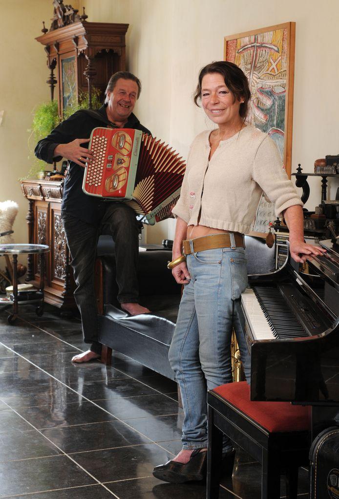 Antje De Boeck en Rony Verbiest.