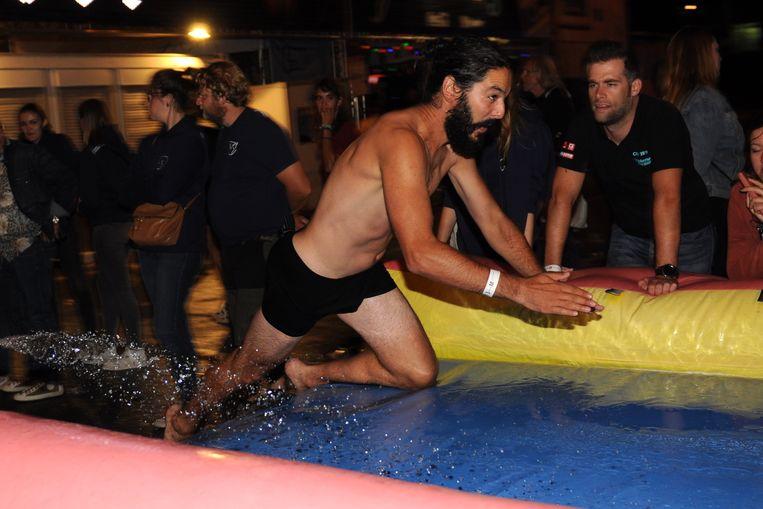 Nachtelijk buikschuifkampioenschap van de Lokerse Feesten