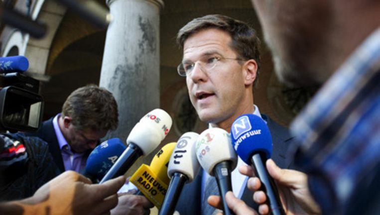 VVD-fractieleider Mark Rutte. Foto ANP Beeld