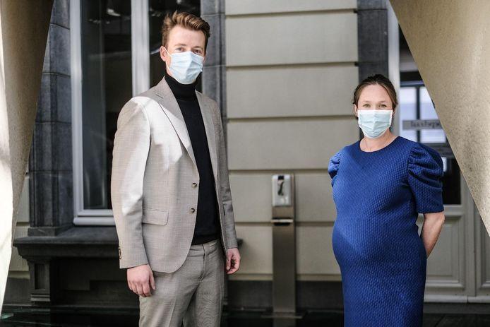 Hannes Anaf en Hannelore Goeman