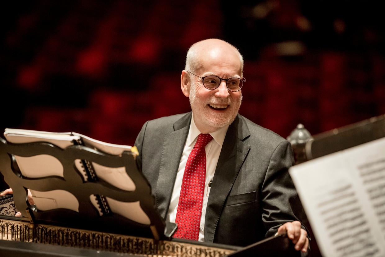 Dirigent, klavecinist, organist en muziekwetenschapper Ton Koopman.