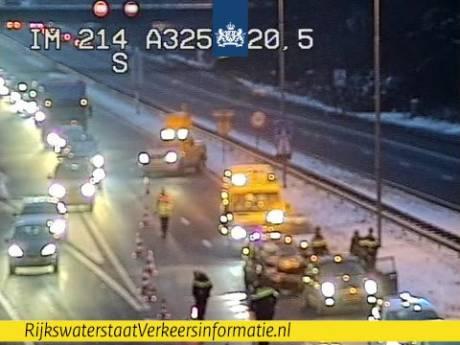 File tussen Arnhem en Nijmegen na ongeval ter hoogte van GelreDome