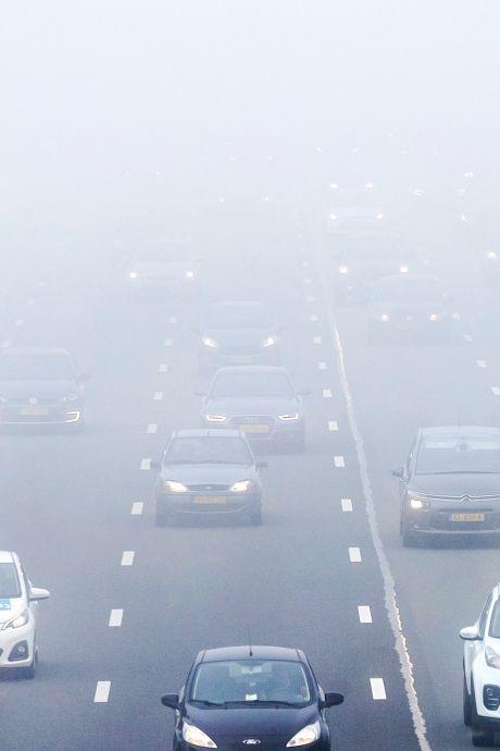 Code geel in bijna hele land wegens dichte mist