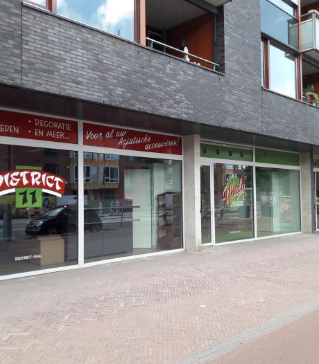 Aziatische winkels in plint Molenstraat Centrum