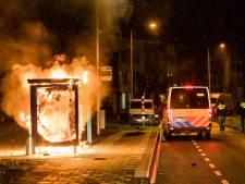 Zeer onrustige avond in Tilburg: veel vernielingen en meerdere mensen opgepakt