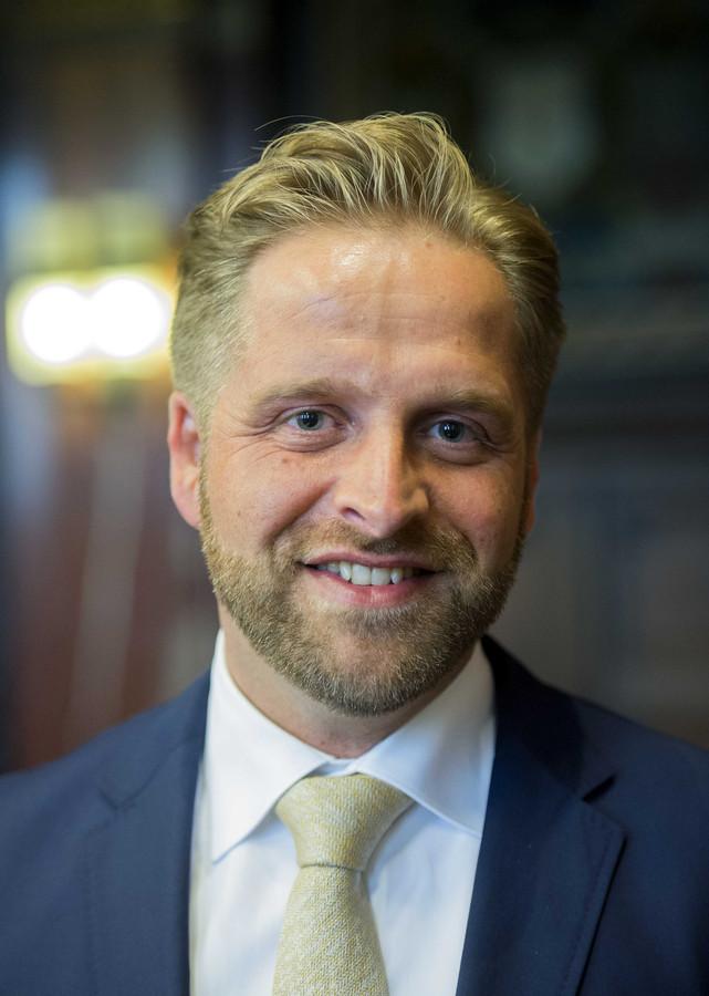 Wethouder Hugo de Jonge.