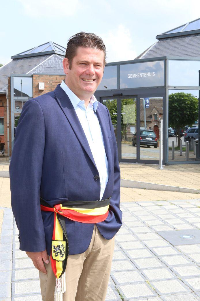 BEKKEVOORT - burgemeester Hans Vandenberg