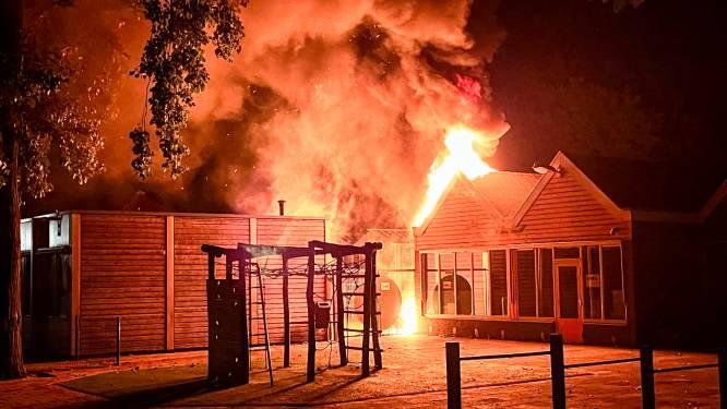 Wéér brand bij basisschool in Oss: schade lijkt mee te vallen
