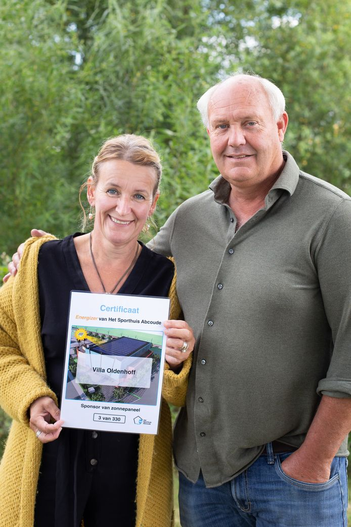 Suzanne en Han van Blokland van Villa Oldenhoff.