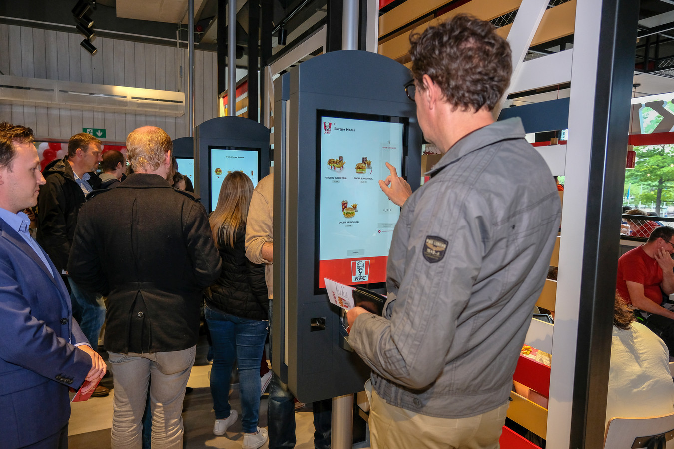 KFC in Brussel Noord