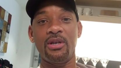 Grappig: Will Smith toont tepel aan Justin Timberlake