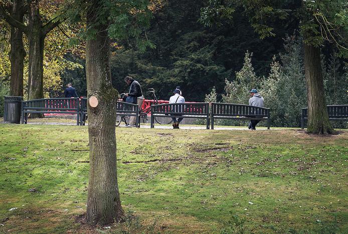 Junk en dealers in park Valkenberg.