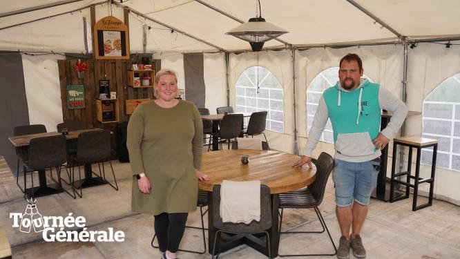 """Café 't Wit Huis verhuist interieur naar tent op parking: """"Met weer in België maar beter geen risico nemen"""""""