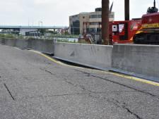 Verzakte N207 gerepareerd: zodra asfalt is uitgehard gaat de weg weer open