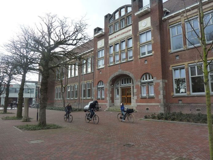 Het Johan de Witt Gymnasium in Dordrecht.