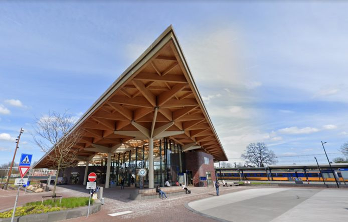 Station Assen, foto ter illustratie