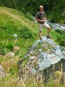 Gert kon enorm genieten van de natuur, zoals hier tijdens een vakantie in Italië.