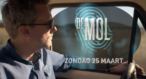 De Mol komt terug op 25 maart.