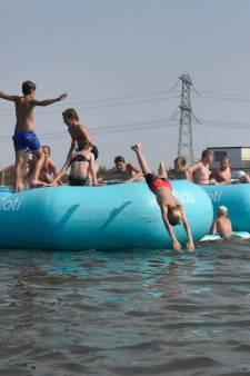 Geen waarschuwingsborden voor zwemmers bij  Woerdens water