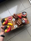 De creaties voor de voetbalsmulbox van Tiffany Sterckx.
