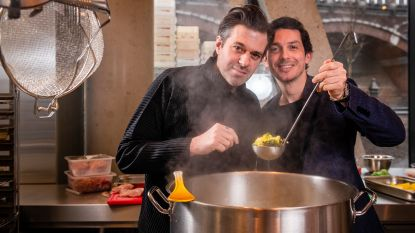 """Sergio Herman en Marcelo Ballardin zitten op dezelfde lijn: """"We zijn twee broers van een andere moeder"""""""