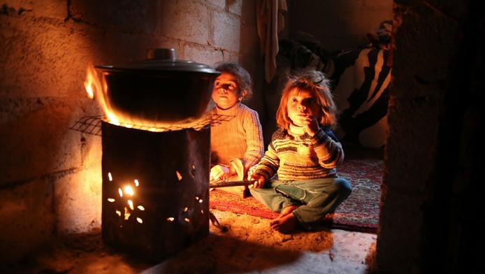 Enfants dans la Ghouta (archives, 2014)