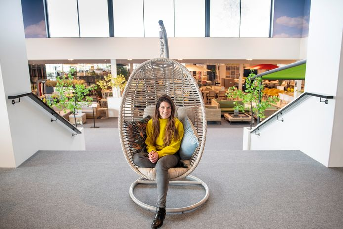 """Annelot Vrerink in de showroom van Kees Smit: """"Krachten bundelen."""""""