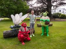 Big Insects: kinderen stappen in de wereld van insecten in tuin bij Paleis Soestdijk