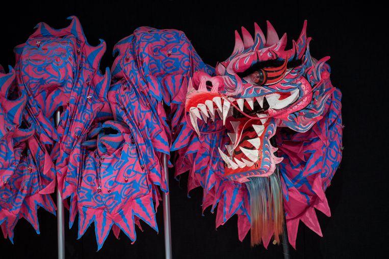 Een traditionele Chinese draak.