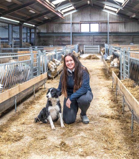 Vivianne (20) vlogt over vee. 'Ik was drie jaar oud toen ik mijn eerste schaap verloste'