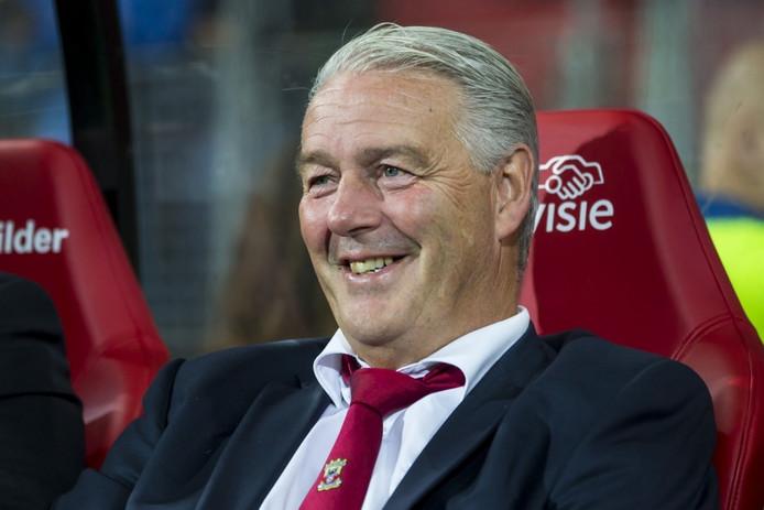 Hans de Koning, trainer van Go Ahead Eagles.