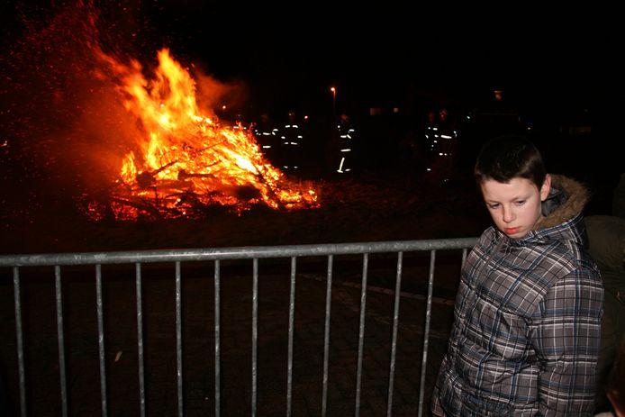 De traditionele kerstboomverbranding maakt plaats voor Wintervuur.