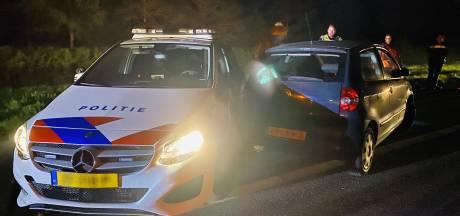 Lachgasrijder (19) vast voor poging doodslag na inrijden op politieauto bij Boxmeer