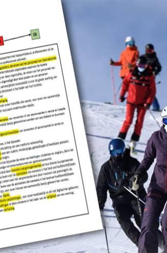 Op skireis? 250 euro boete en agenten moeten je doorlaten volgens dit interne document