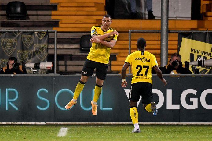 Georgios Giakoumakis heeft zijn vierde gemaakt tegen Vitesse (4-1).