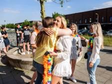 Geslaagden van het Reeshofcollege vieren feestje: 'Houdoe en bedankt'
