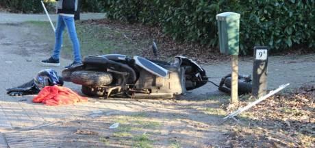 Scooterrijder geschept in Heeten