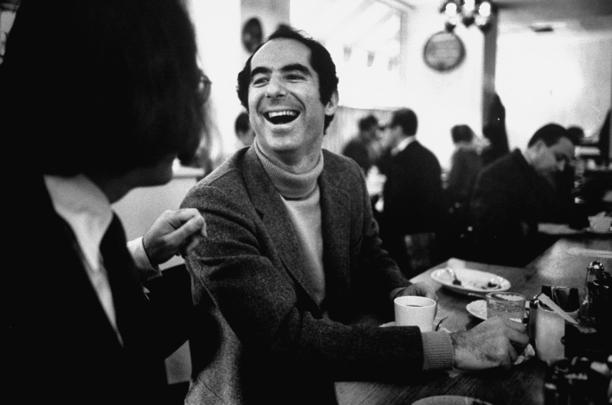 Philip Roth in 1968.