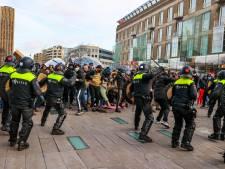 Al 122 aanhoudingen voor rellen Den Bosch en Eindhoven, dubbele strafeis voor geweld tegen hulpverleners, agenten en journalisten