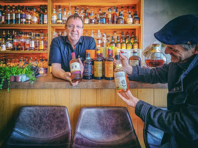 Japanse whisky, te vinden in Westouter,  op Festival van het Maankonijn