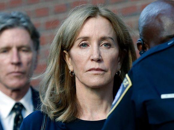 Felicity Huffman werd vorige maand veroordeeld tot een celstraf van 14 dagen voor het omkopen van een universiteitsmedewerker.