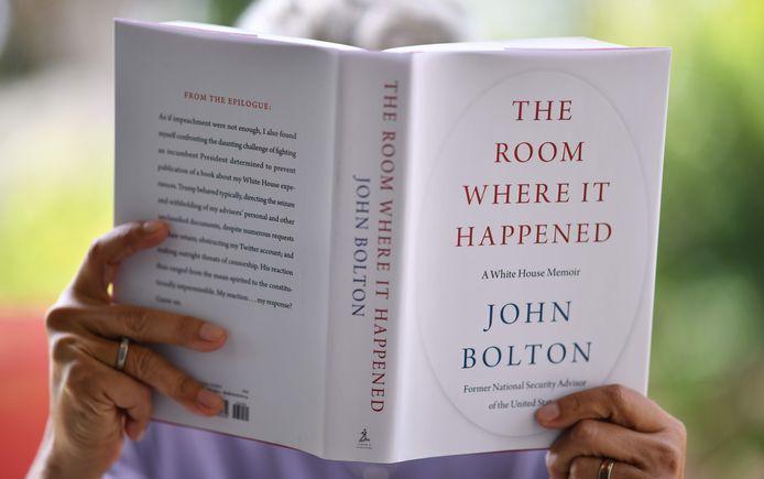 Het boek 'The Room Where It Happened: A White House Memoir' geeft een ontluisterend verslag over de zeventien maanden die Bolton bij Trump werkte.