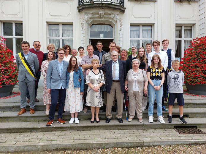 De familie Rondas uit Evergem.