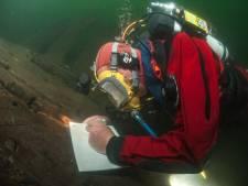 Zeewrakken in de Noordzee zijn tijdscapsules: in zee wordt alles beter bewaard