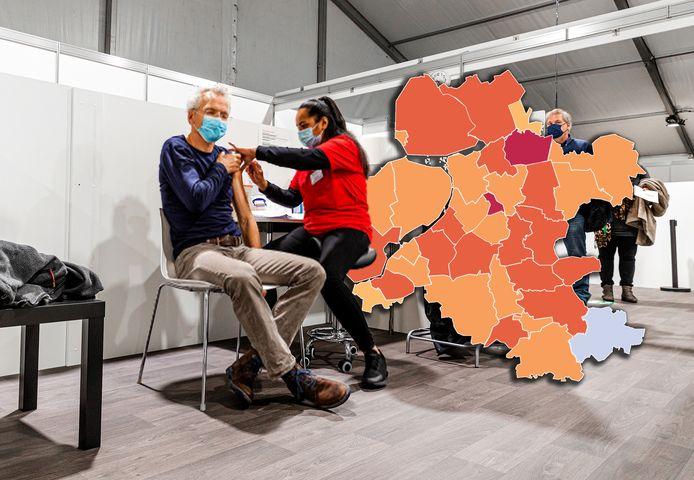 In heel Nederland zijn er vandaag minder nieuwe coronabesmettingen gemeld. Ook in Oost-Nederland zien we een daling.